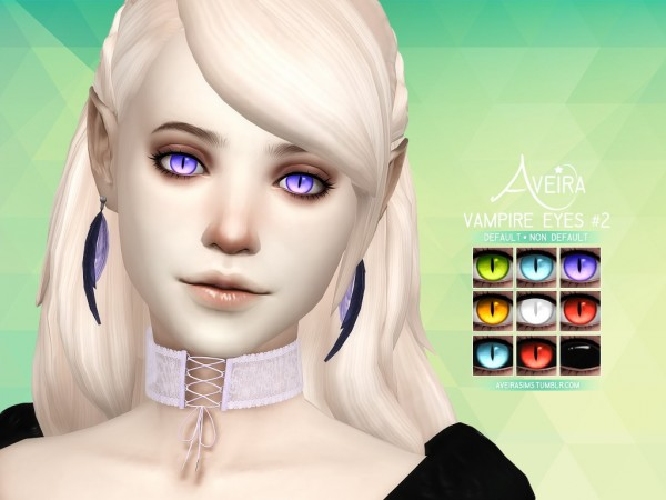 Aveira Sims 4 Vampire Eyes 2 Sims 4 Downloads