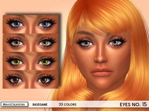 The Sims Resource: Eyes No.15 by MahoCreations