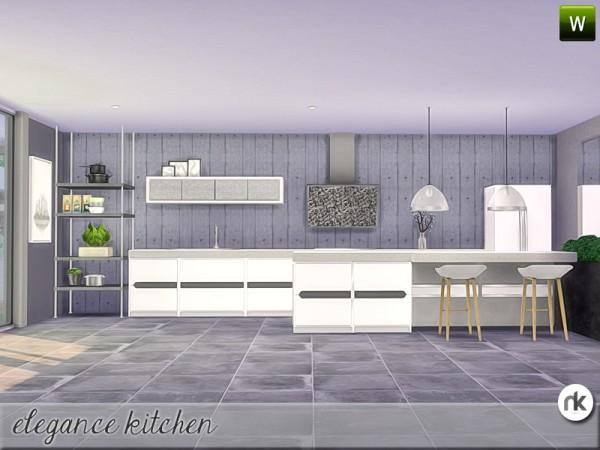 The Sims Resource: Elegance Kitchen by nikadema