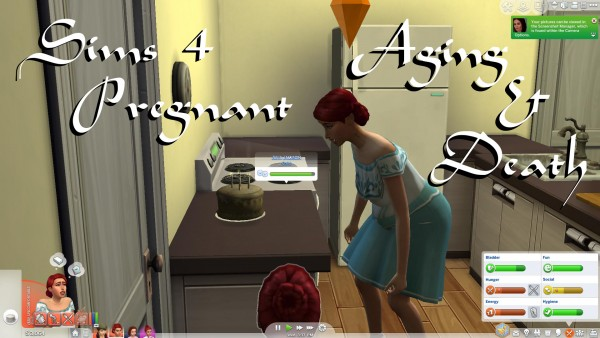 Mod The Sims: Pregnant Aging & Death by PolarBearSims