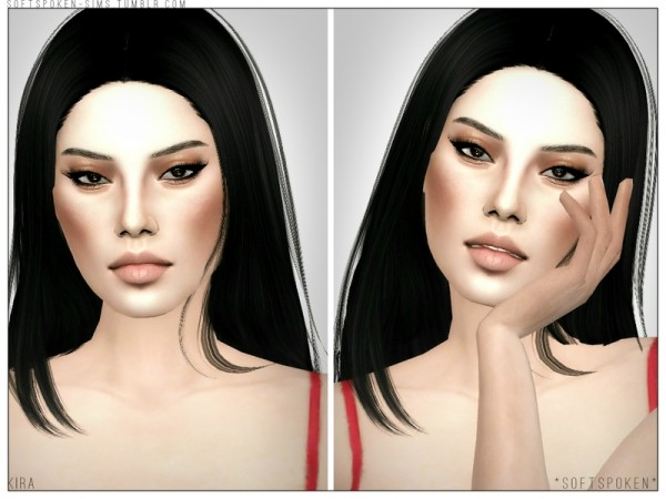 The Sims Resource: Kira sims models by *Softspoken*