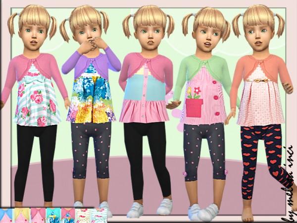 The Sims Resource: Toddler Various Top Dress by melisa inci