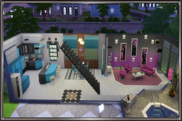 Blackys Sims 4 Zoo: Three house by MadameChaos