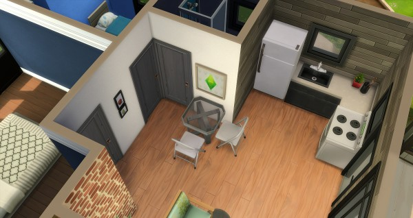 Studio Sims Creation: Oasis starter house