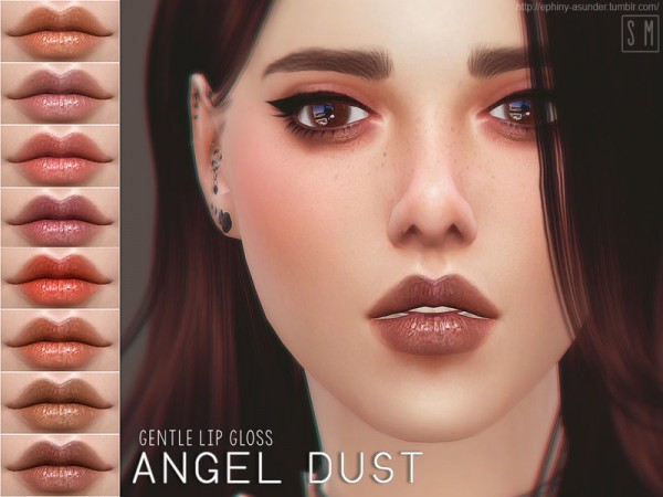The Sims Resource: Angel Dust   Lip Gloss by Screaming Mustard