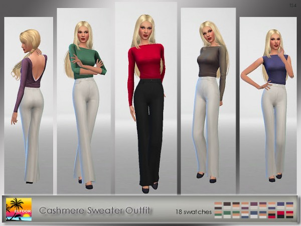 Elfdor: Cashmere Sweater Outfit
