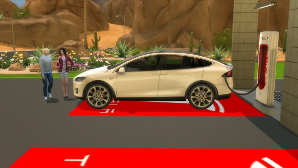 Lory Sims: Tesla Model X and Supercharger