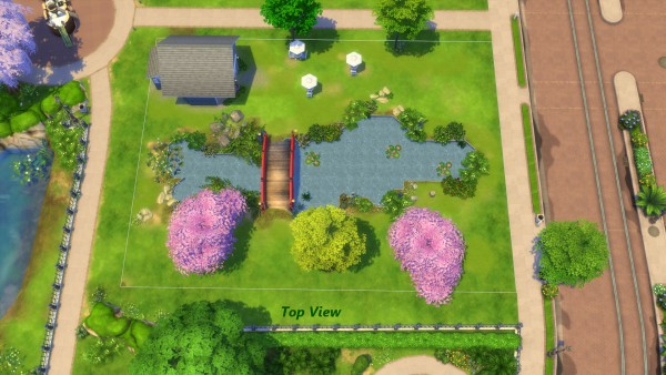 Mod The Sims: Flower Garden and Coffee Shop by Snowhaze