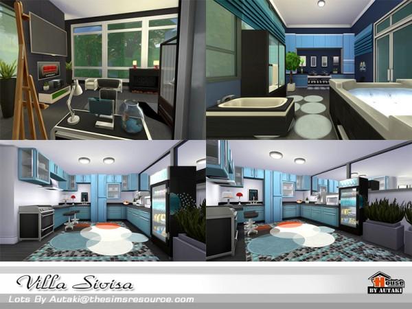 The Sims Resource: Villa Sivisa by Autaki