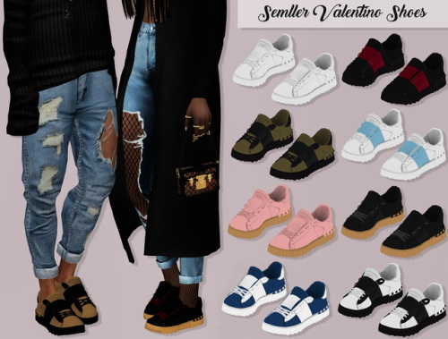 LumySims: Semller Valentino Shoes
