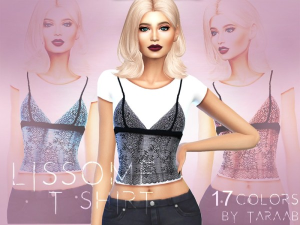 The Sims Resource: Lissome T  Shirt by taraab