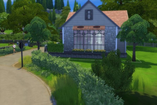 Blackys Sims 4 Zoo: The Booing Sim house by Dschungelkatze