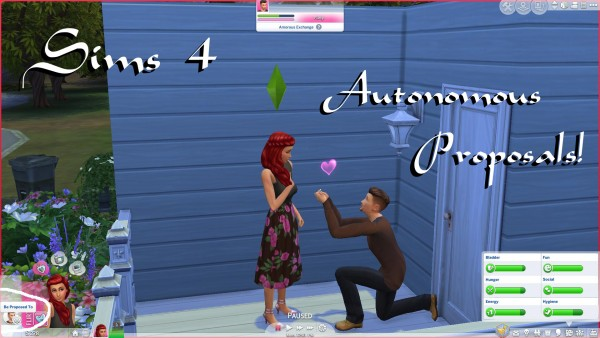 Mod The Sims: Autonomous Proposals by PolarBearSims
