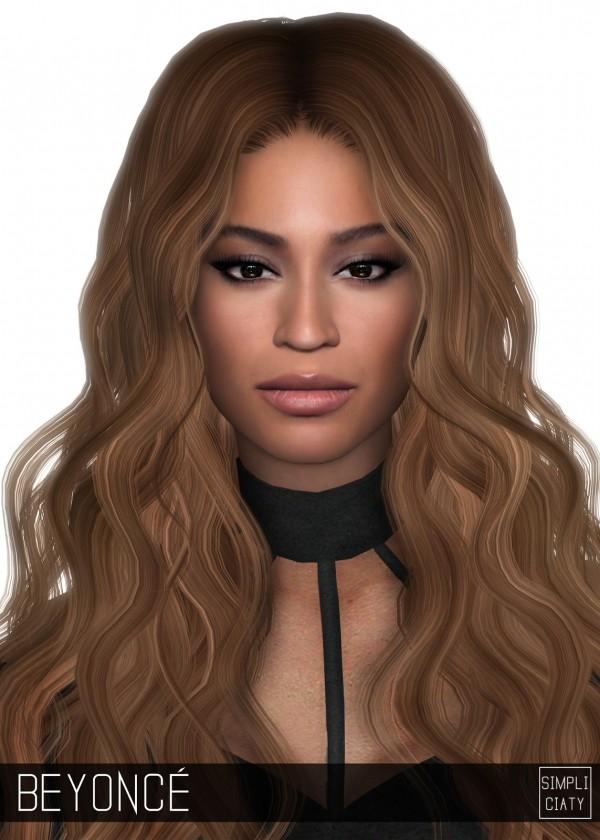 Simpliciaty Beyonce Sim Sims 4 Downloads
