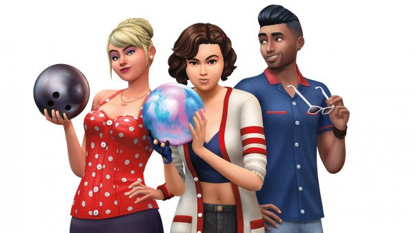 The Sims: STRIKE! The Sims 4 Bowling Night Stuff is Out Now!