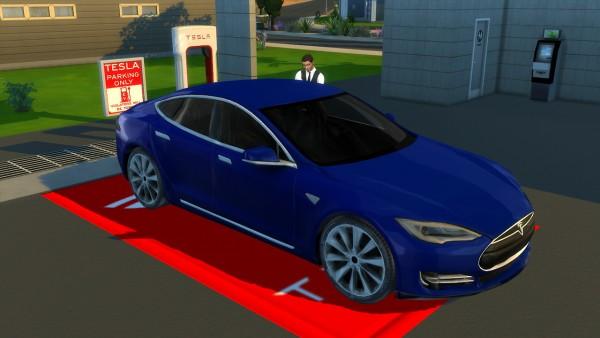 Lory Sims: Tesla Model S