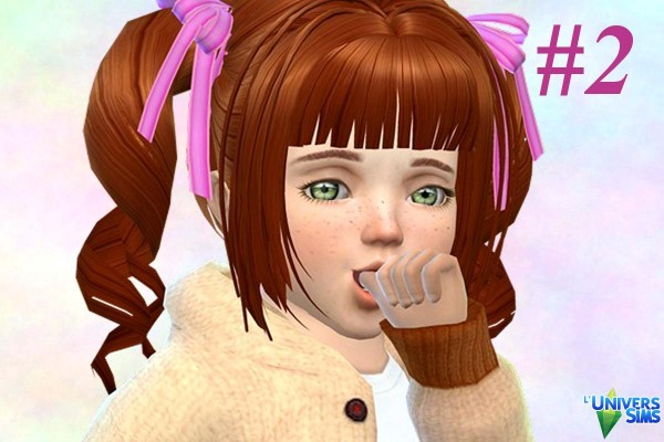 Luniversims: Face Poses toddlers by Vanderetro