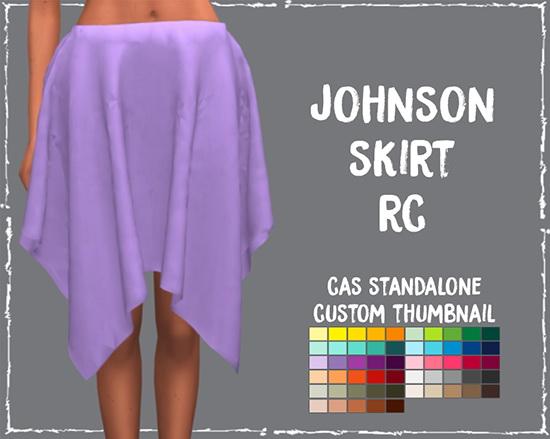 Simsworkshop: Johnson Skirt by Sympxls