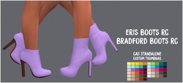 Simsworkshop: Eris and Bradford Boots by Sympxls