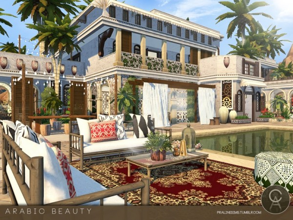 The sims resource arabic beauty house by praline sims for Arabic home design