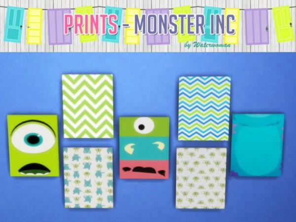 Akisima Sims Blog: Buhs Door and Prints   Monster AG