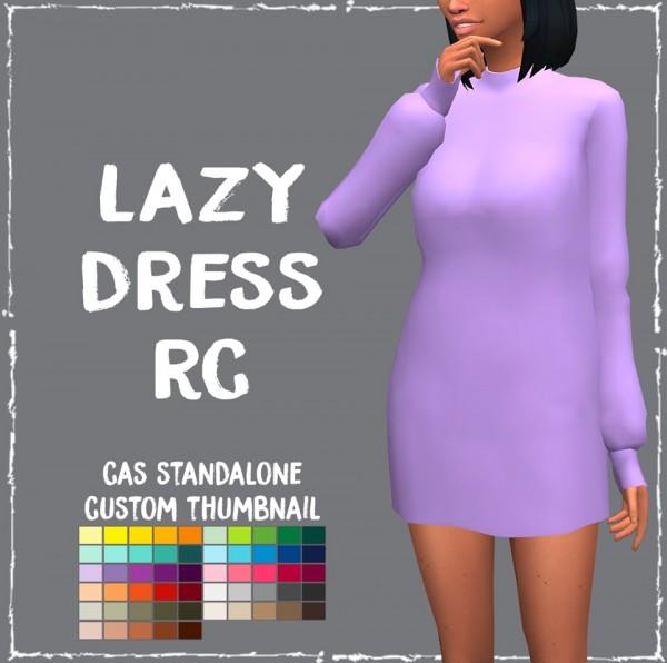 Simsworkshop: Lazy Dress by Sympxls