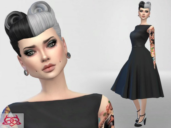 The Sims Resource: Psychobilly Set 5 by Colores Urbanos
