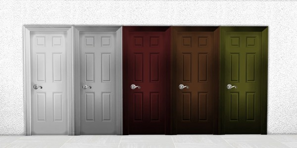 Sims 4 Designs: Six Panel Moulded Door