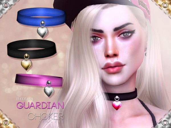 The Sims Resource: Guardian Choker by Pralinesims