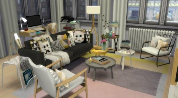 Sims Artists Scandinavian Apartment Sims 4 Downloads