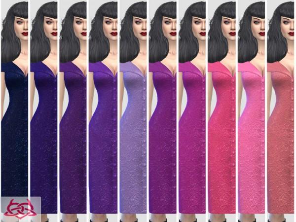 The Sims Resource: Paloma dress v. Tubo dress by Colores Urbanos