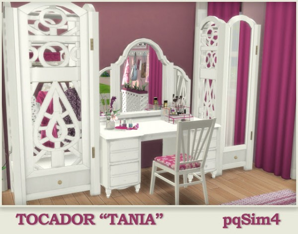 Pqsims4 Dressing Table Tania Sims 4 Downloads
