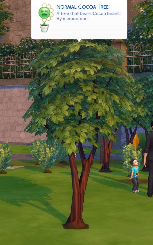 Mod The Sims: Harvestable Cocoa Bean Override by icemunmun