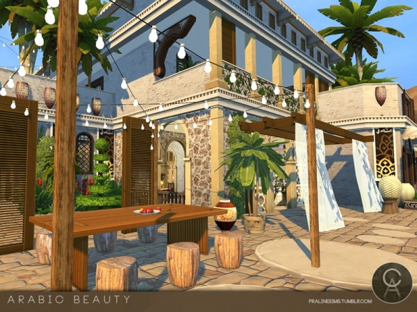 The Sims Resource Arabic Beauty House By Praline Sims