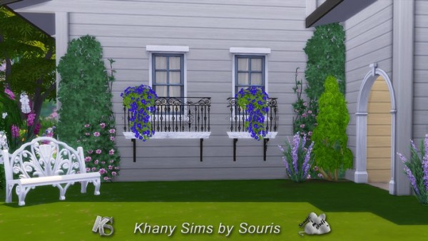 Khany Sims: Flower balconies