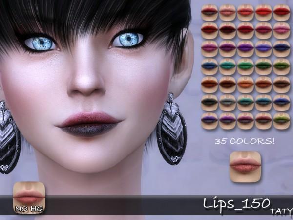 Simsworkshop: Taty Lips 150