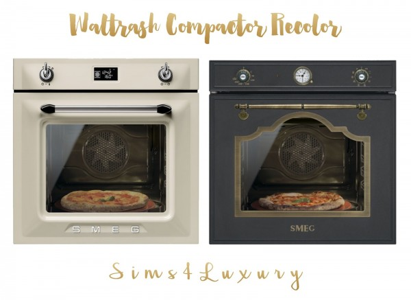 Sims4Luxury: Waltrash Compactor Recolor