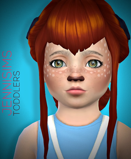 Jenni Sims: Toddlers Face Paint