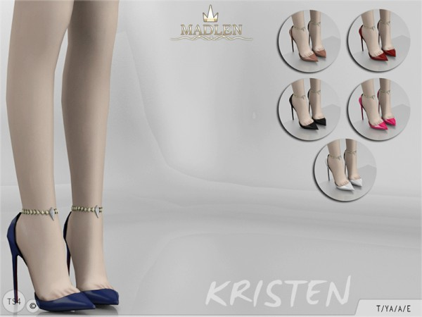 The Sims Resource: Madlen Kristen Shoes by MJ95