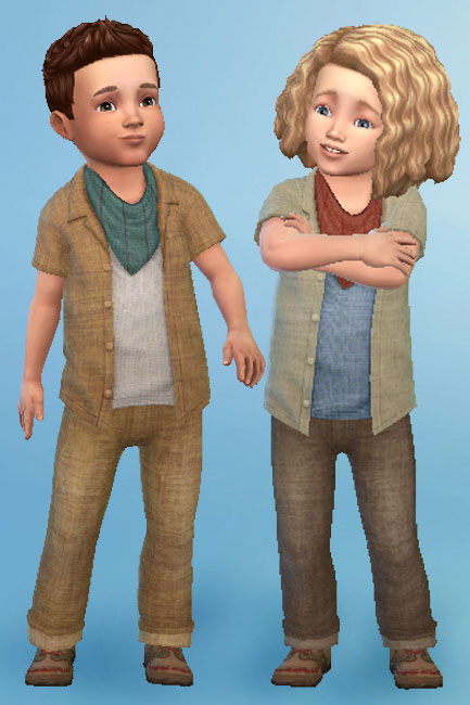 Blackys Sims 4 Zoo: Shirt and Pants for toddlers by mammut