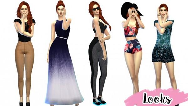 Mony Sims: Carmen sims model