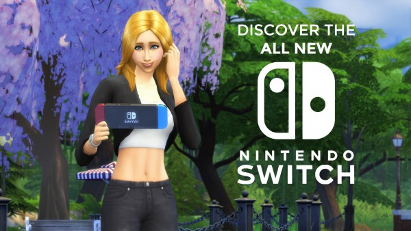 Mod The Sims Nintendo Switch By Littledica Sims 4 Downloads