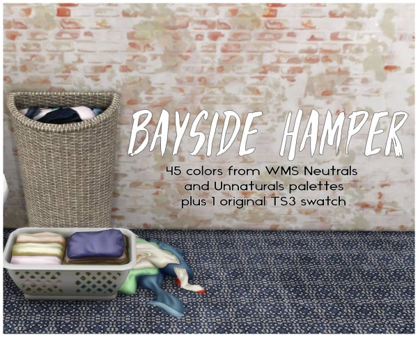 Simsworkshop: Bayside Hamper by Sympxls