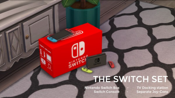 Mod The Sims: Nintendo SWITCH by littledica • Sims 4 Downloads