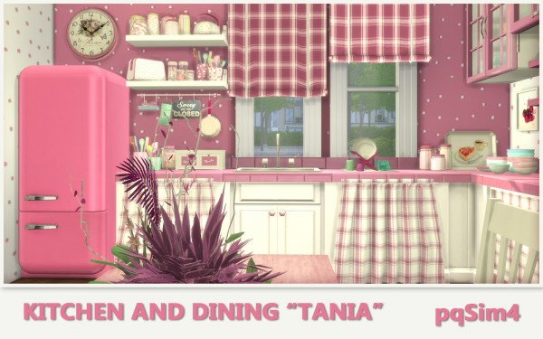 PQSims4: Kitchen and Dining Tania
