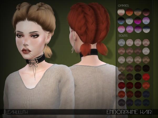 The Sims Resource: LeahLillith Endorphine Hair
