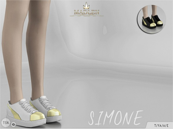 The Sims Resource: Madlen Simone Shoes by MJ95