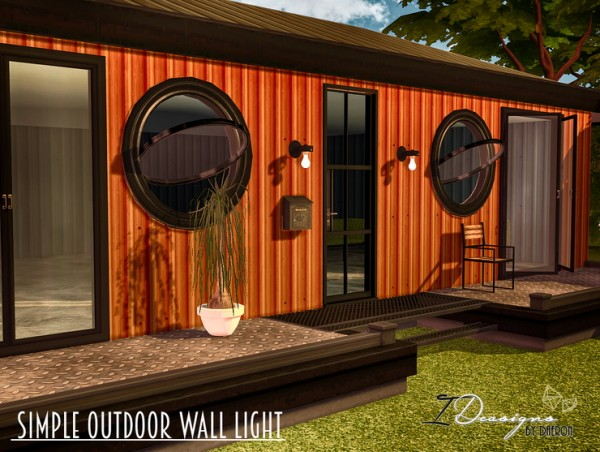 Sims 4 Designs: Simple Outdoor Lights