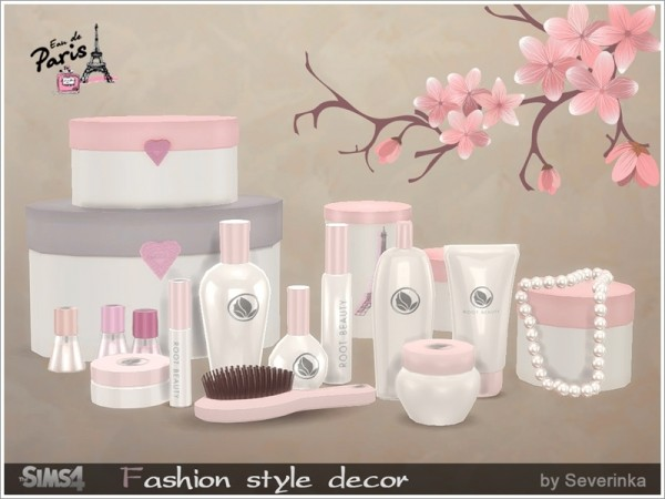 The Sims Resource: Fashion style decor by Severinka