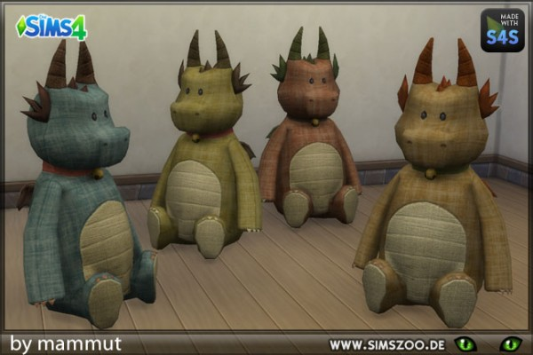 Blackys Sims 4 Zoo: Old Dino by mammut